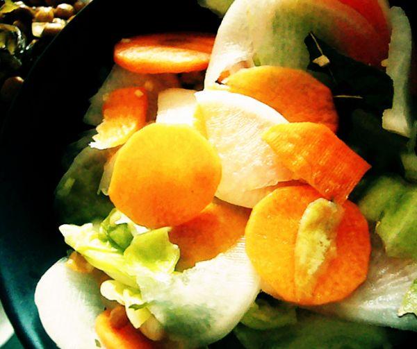 酸甜口的泡菜(3步完成)的做法