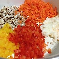 宝宝餐之蔬菜小肉丸的做法图解2