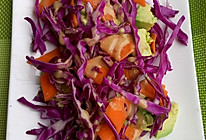牛油果蔬菜沙拉的做法
