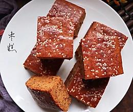 超好吃的核桃红枣糕的做法