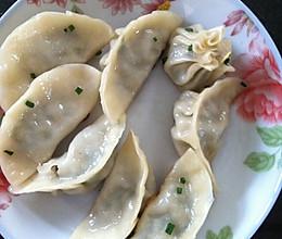 猪肉荠菜冬笋煎饺的做法