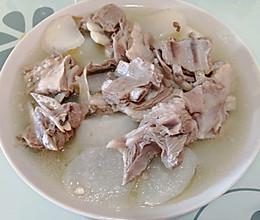 清炖萝卜羊排的做法