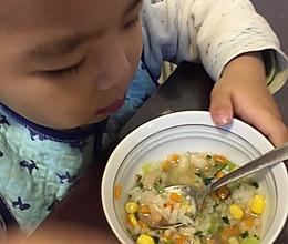 鲜蔬粥 *感冒宝宝食谱的做法