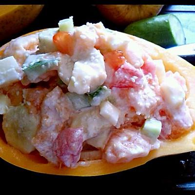 木瓜水果沙拉