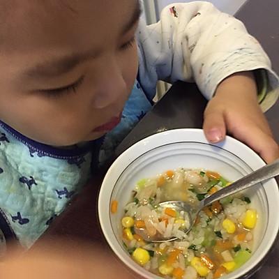 鲜蔬粥 *感冒宝宝食谱