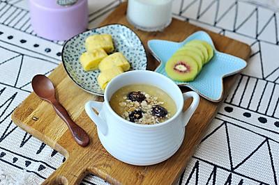 开学季 好好做早餐 | 核桃小米红糖粥