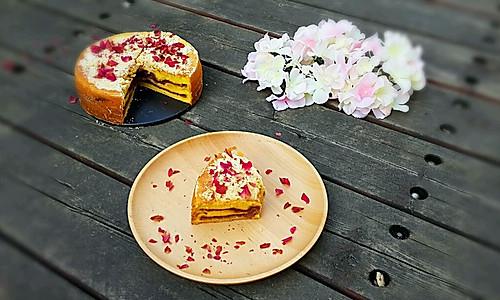 酥粒蛋糕的做法