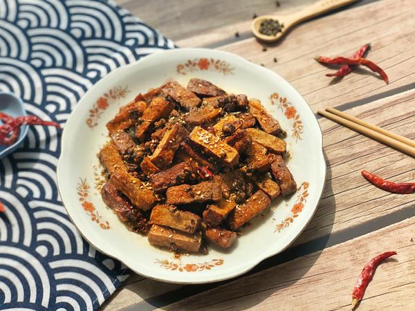 馋嘴零食——麻辣豆干的做法