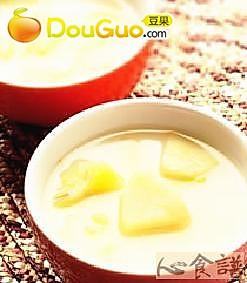 水果牛奶汤头的做法