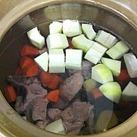 猪尾骨蚝干木瓜汤的做法图解6