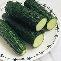健康美味快手菜,酸爽脆口的刀拍黃瓜的做法圖解1