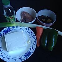 #菁选酱油试用#肉末杂蔬炖豆腐的做法图解1