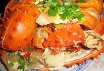 葱姜帝王蟹的做法
