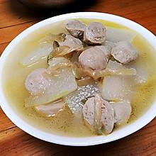 鲜美冬瓜贡丸汤