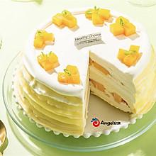 自制完美班戟芒果千层蛋糕!
