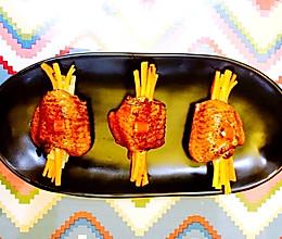 时蔬鸡翅 创意鸡翅 鸡翅的做法