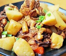 地锅鸡炖土豆的做法