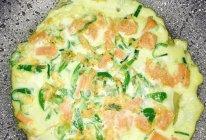 青椒火腿鸡蛋饼的做法