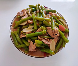 豆角粉条肉的做法