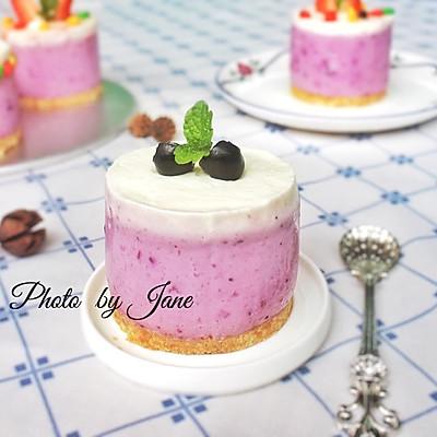 藍莓慕斯蛋糕