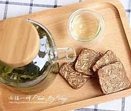 杏仁片咖啡饼干的做法