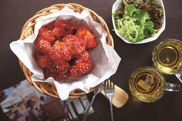 """邂逅""""心""""之味 韩式酱汁炸鸡(韩式)的做法"""