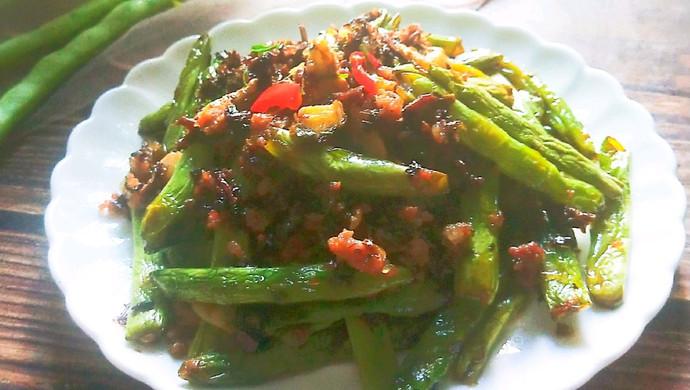 梅干菜煸四季豆