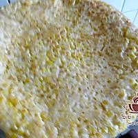 炼乳玉米烙的做法图解9