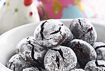 裂纹巧克力饼干的做法