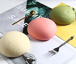 乳酸口味正当红!风靡日本的国民级彩色菠萝包配方收藏来学!的做法