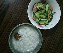 火腿肠炒黄瓜的做法