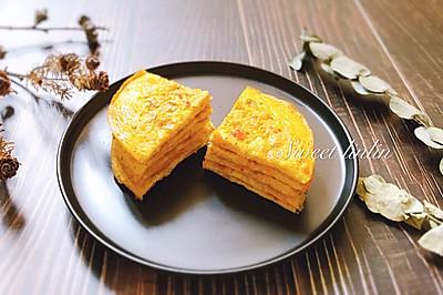 咸蛋黄小龙虾蛋饼