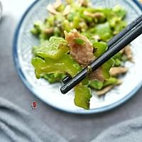 苦瓜雪菜炒肉的做法图解9