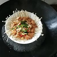 金针菇蒸鸡胸肉的做法图解11
