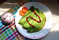 青菜小煎饼#快乐宝宝餐#的做法