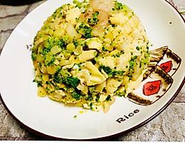 无米蛋炒饭的做法