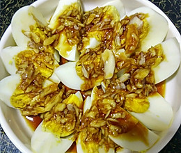 蒜泥鸡蛋的做法