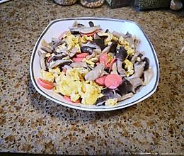 蘑菇火腿炒鸡蛋的做法