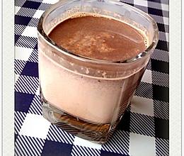 热巧克力牛奶的做法