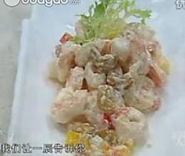 坚果凤梨虾的做法