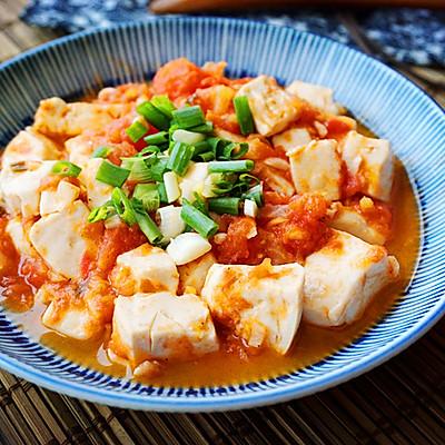 西红柿豆腐