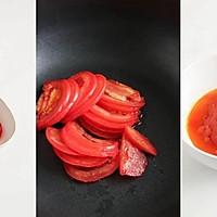 节气美食减肥版 | 小满谦卑,番茄味苦菊拌虾仁,低卡轻食的做法图解1