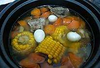 猪骨胡萝卜玉米汤的做法