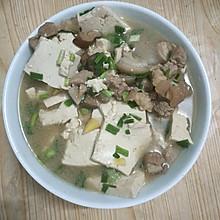 香菇老豆腐炖肉