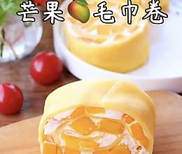 #营养小食光#香甜不腻的网红毛巾卷芒果毛巾卷的做法