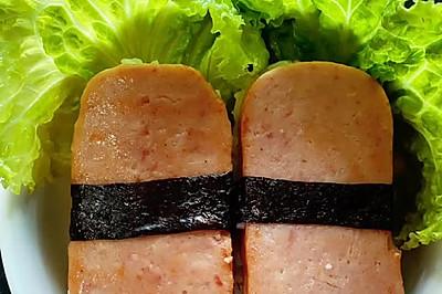 午餐肉飯團