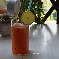 #炎夏消暑就吃「它」#百香果柠檬西柚汁的做法图解8