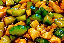 黄瓜炒鸡丁✅的做法
