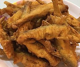 香酥炸小鱼的做法