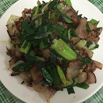 干辣椒炒腊肉的做法 步骤4